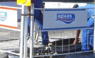 Corte de tránsito y desvío de colectivos por trabajos de ASSA