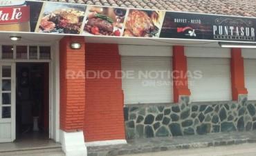 Asi fue el robo al Restaurante Punta Sur