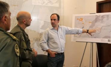José Corral analizó con autoridades el desempeño de las fuerzas federales en la ciudad