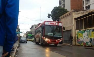 Transporte público: desvíos de colectivo por trabajos en la ciudad