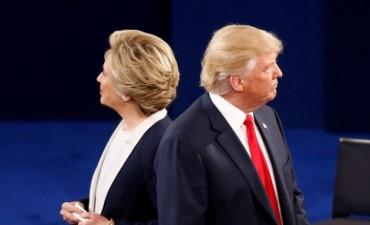 Una encuesta de la CNN da por ganadora a Clinton en el debate