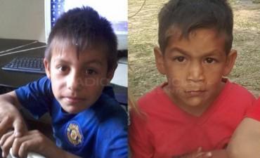 A través de las cámaras de seguridad se encontró a los niños desaparecidos