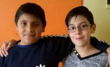 El nene que dibujó un identikit se reencontró con su amigo Mauricio