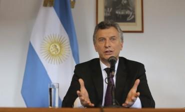Macri sobre la suspensión del paro de la CGT: