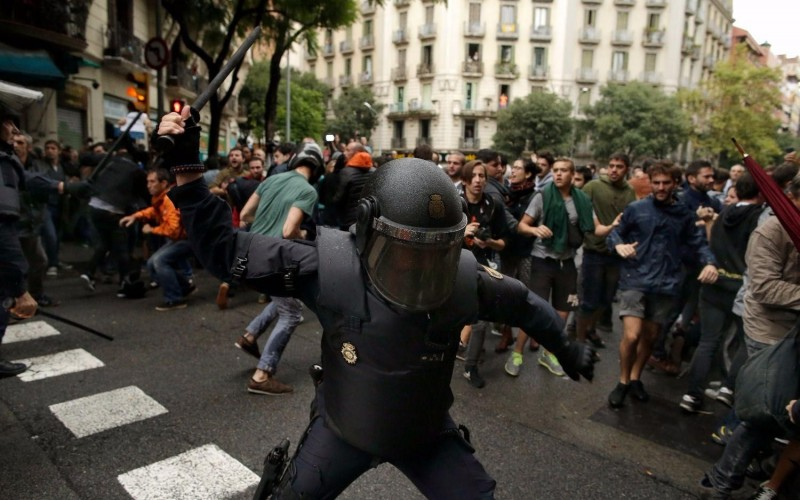 El gobierno catalán dice que hay 337 heridos por la represión