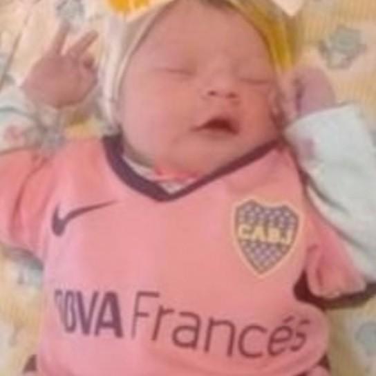 El particular nombre que unos fanáticos de Boca le pusieron a su hija