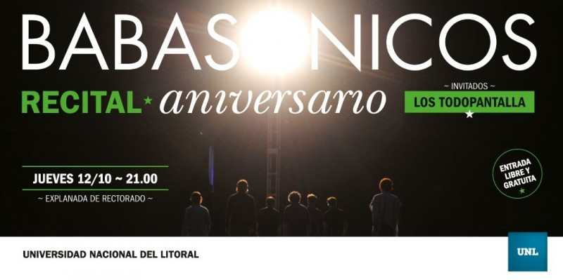 Babasónicos se presentará esta noche por el aniversario de la UNL