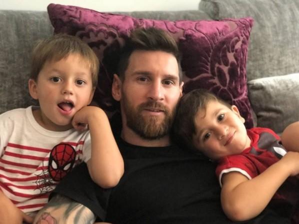 Messi será papá por tercera vez