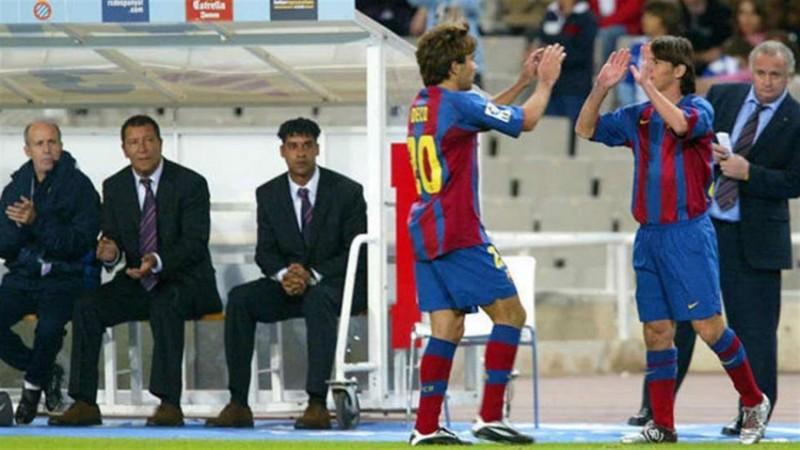 A 13 años del debut de Lionel Messi