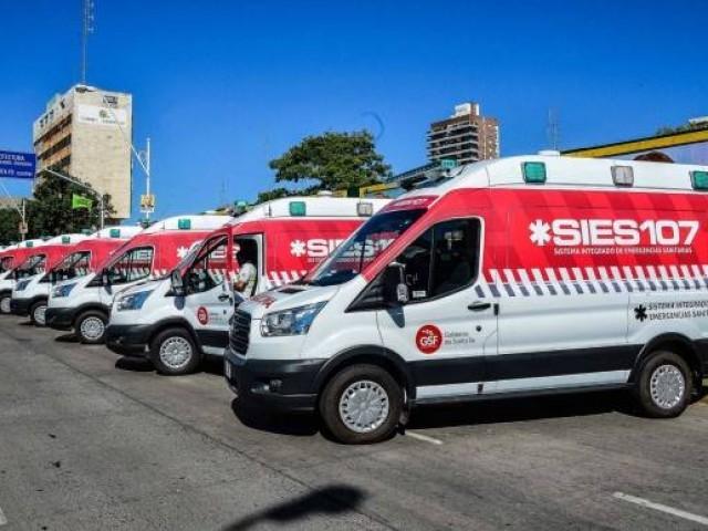 Se incorporaron 25 ambulancias de alta complejidad al Sistema Integrado de Emergencias Sanitarias