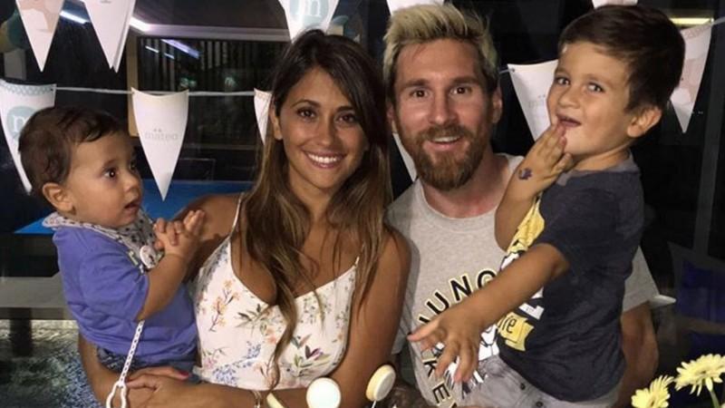 Se conoció el sexo del tercer hijo de Messi