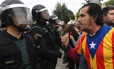 Cerraron la votación del referéndum en Cataluña con más de 500 heridos