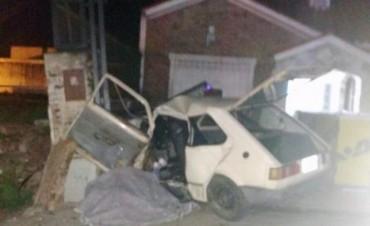Granadero Baigorria: viajaban 7 en un 147, volcó y murieron madre e hija