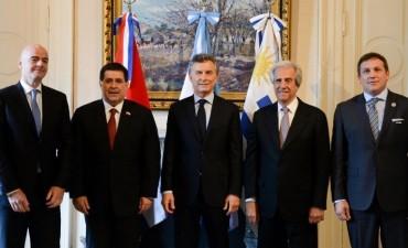 Mundial 2030: Argentina, Paraguay y Uruguay ratifican su candidatura conjunta