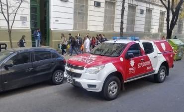 Procesaron a un alumno por falsa amenaza de bomba