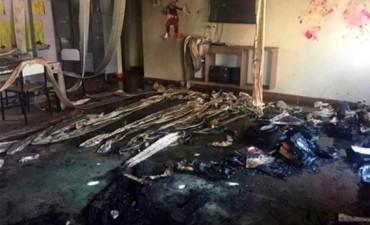 Al menos 10 muertos en un incendio provocado en una guardería de Brasil