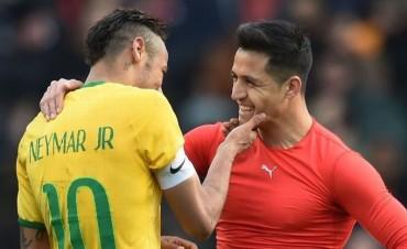 #EntregaBrasil: hinchas chilenos quieren que Brasil se deje ganar