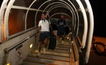 La selección argentina llegó a Ecuador