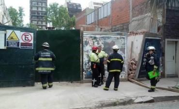 Se derrumbó una obra en construcción en Villa Crespo: dos muertos
