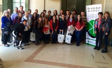 Becarios de la Fundación Banco Santa Fe expusieron sus proyectos en encuentro de jóvenes investigadores