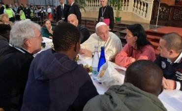 Se fugaron dos presos de Italia después de comer con el Papa Francisco