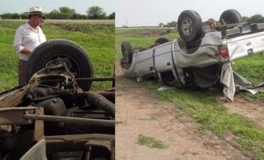 El Chaqueño Palavecino rescató víctimas de un accidente en la ruta 34