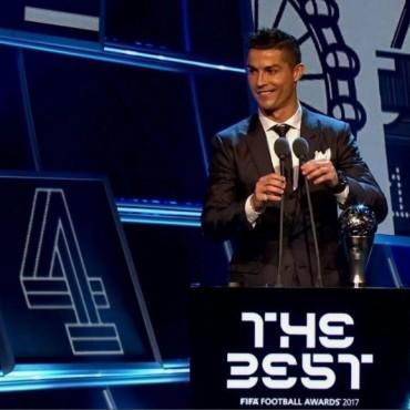 Ronaldo se llevó el premio The Best