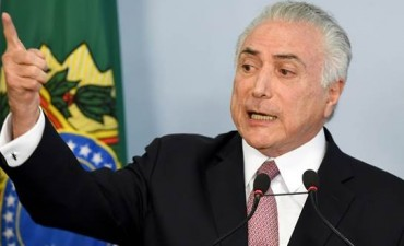 Brasil decide el futuro del presidente Michel Temer