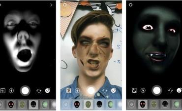 Instagram recibe Halloween con filtros escalofriantes