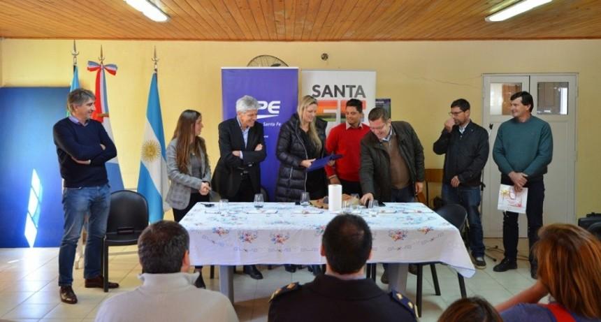 Licitaron obras eléctricas para los departamentos San Justo y San Javier