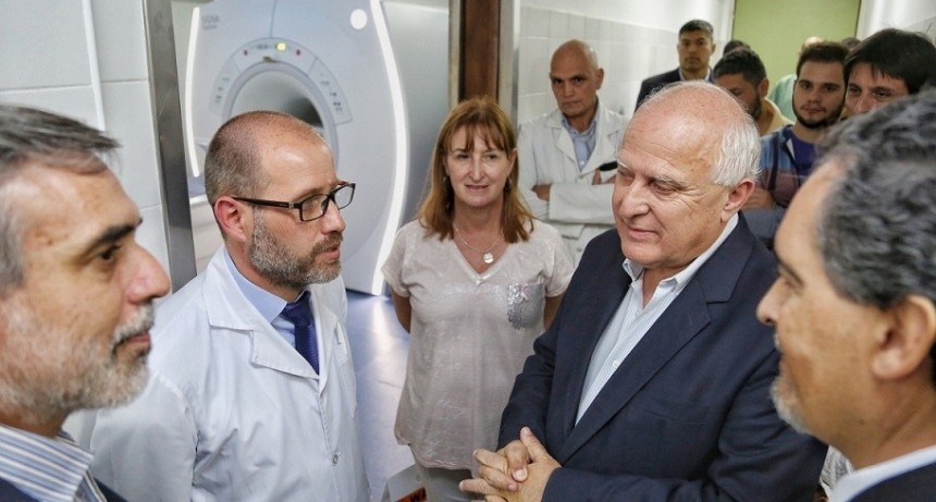 Se inauguró la nueva área de diagnóstico por imágenes del Hospital Cullen