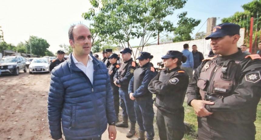 Se inició una intervención integral en barrio Yapeyú