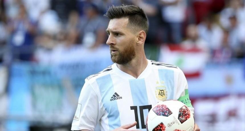 Messi tampoco estaría en la próxima fecha FIFA