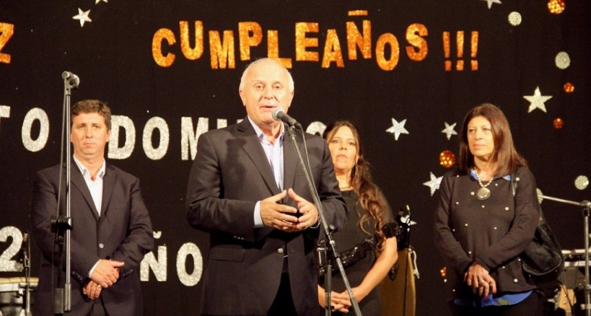 Lifschitz participó del 127° aniversario de la comuna de Santo Domingo