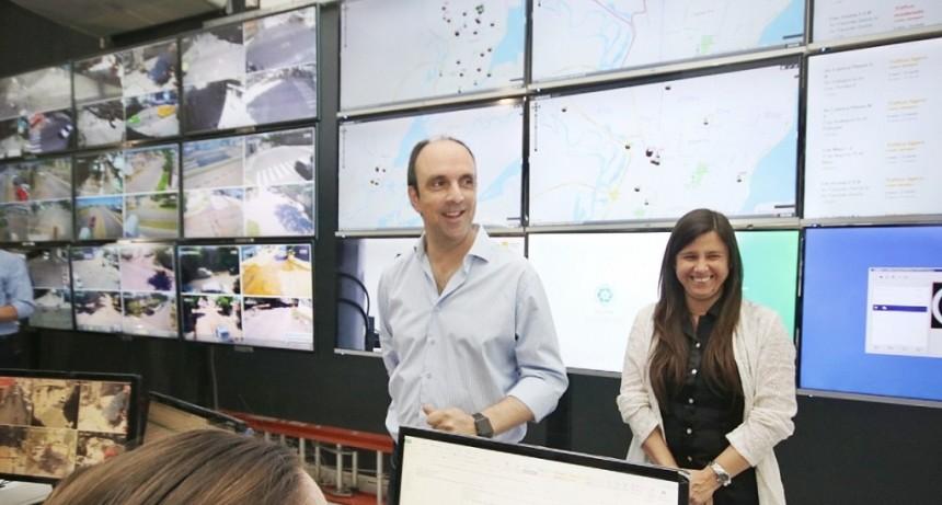 Se presentó el Sistema de Monitoreo de Movilidad y Tránsito de la Ciudad