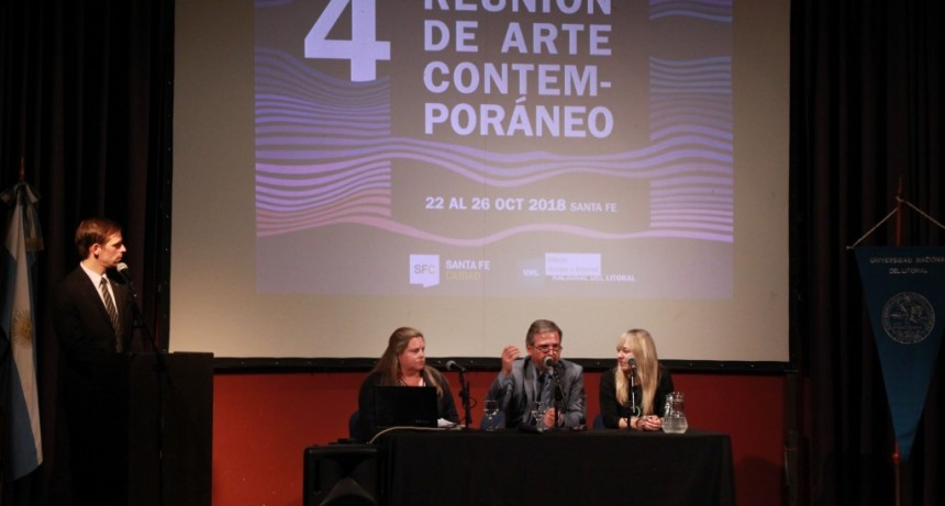 Comenzó la IV Reunión de Arte Contemporáneo