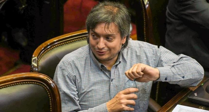La remera de Máximo Kirchner que generó la furia en las redes sociales