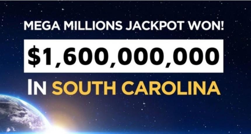El premio de 1.600 millones de dólares de una lotería ya tiene ganador