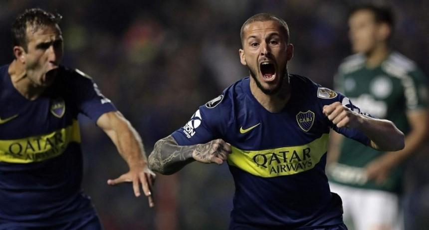 Boca ganó en la ida de la semifinal con dos tantos de Benedetto