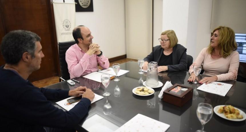 Corral encabezó un encuentro para definir el Plan de Trabajo para 2019