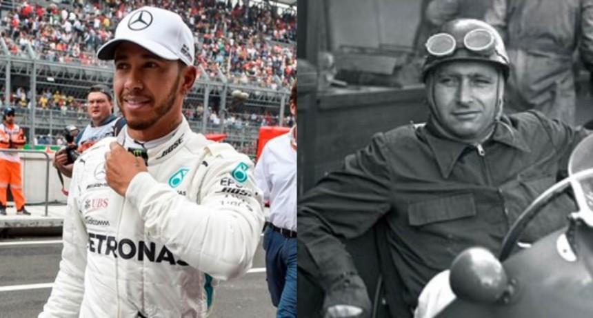 Lewis Hamilton es el nuevo campeón de la Fórmula 1 e igualó el récord de Fangio