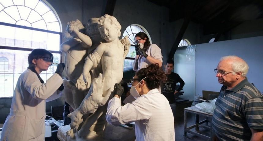 Avanza la formación de un equipo de conservación y restauración del patrimonio escultórico