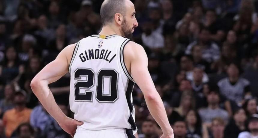 San Antonio confirmó que retirará la camiseta 20 en honor a Manu Ginóbili