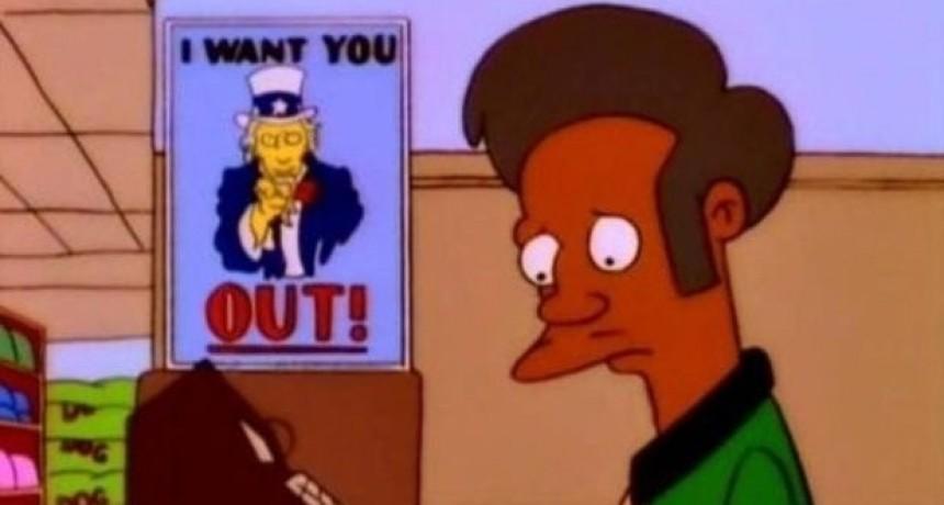 ¿Apu se va de Los Simpsons?