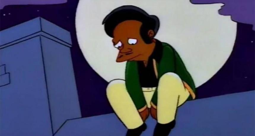 Convocan a una marcha en el Obelisco para que Apu no se vaya de Los Simpsons