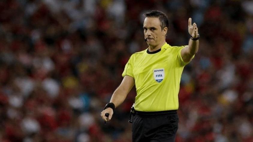 Patricio Loustau será el árbitro del Clásico Santafesino