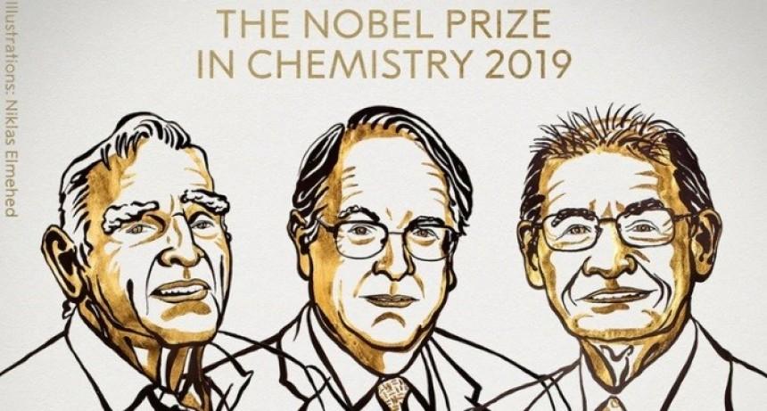 El premio Nobel de Química fue para los inventores de las baterías de litio de los celulares