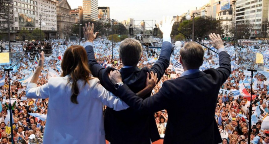 Mauricio Macri, en la marcha del millón: Tenemos que dar vuelta la elección