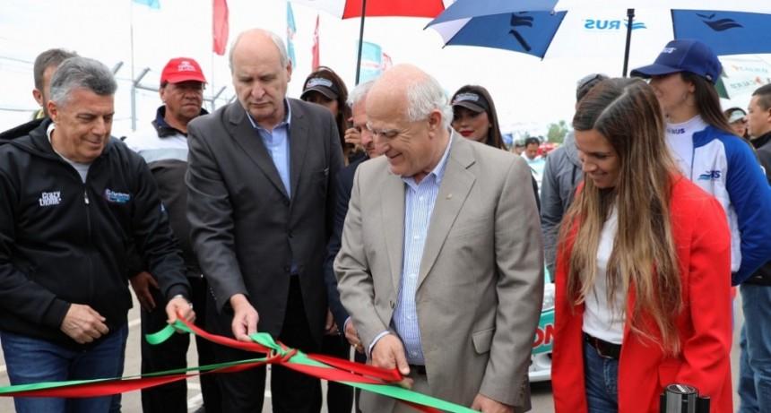 Lifschitz inauguró las obras de remodelación del circuito del Autódromo de San Jorge