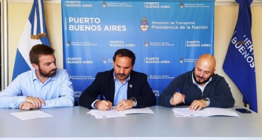 Firmaron un convenio de cooperación entre los Puertos de Santa Fe y Buenos Aires